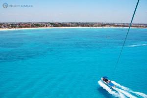Playa del Carmen parasail